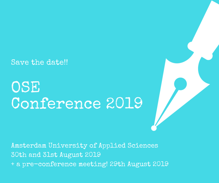 OSE Conference 2019_save the date